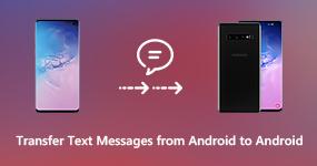 Siirrä tekstiviestit Androidista Androidiin