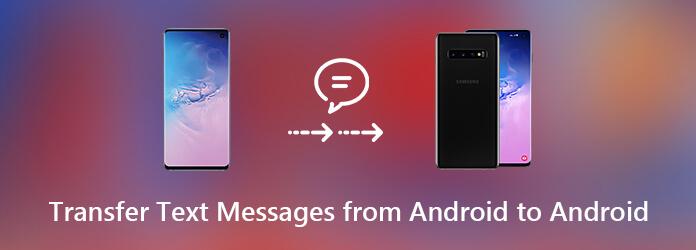 Siirrä tekstiviesti Androidista Androiden