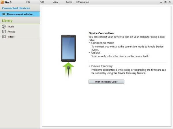 Siirrä tekstiviestejä Samsung Phone -sovelluksesta