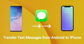 Siirrä tekstiviestit Androidista iPhoneen