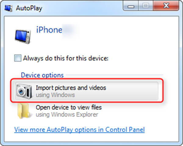 Autoplay PC
