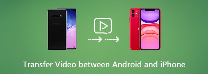Siirrä videoita Androidin ja iPhonen välillä