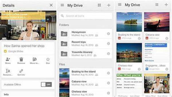 Videot Google Drive