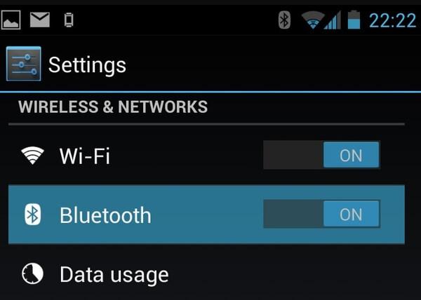 Siirrä video Bluetooth-yhteyden avulla