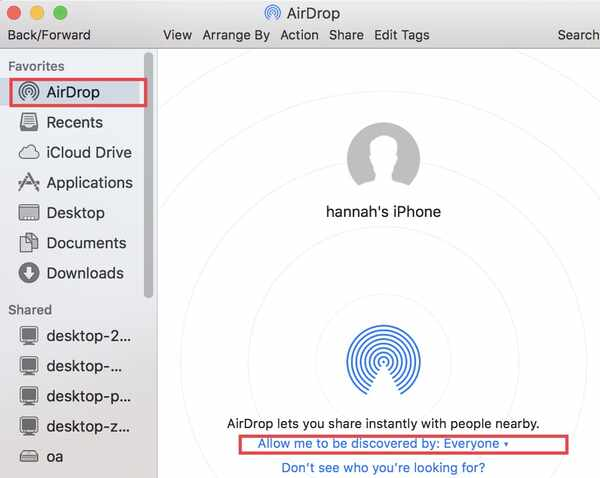 Avaa Airdrop Mac