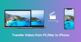Siirrä videoita PC: ltä / Macista iPhoneen