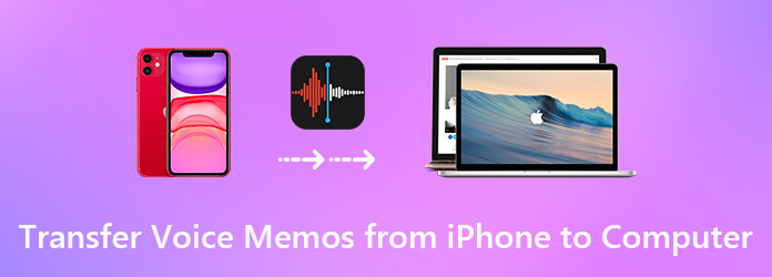 Siirrä äänimuistiot iPhonesta tietokoneelle
