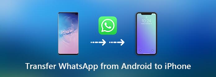 Siirrä Whatsapp Androidista iPhoneen