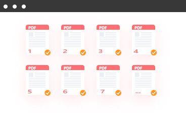 Muunna PDF kaikilla sivuilla