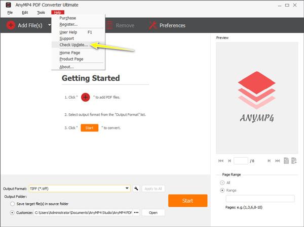 Päivitä PDF Converter Ultimate