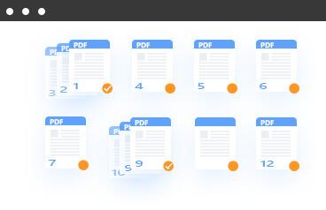 Muunna PDF-alueiden sivut