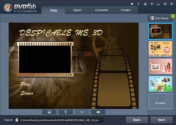 Muunna DVD