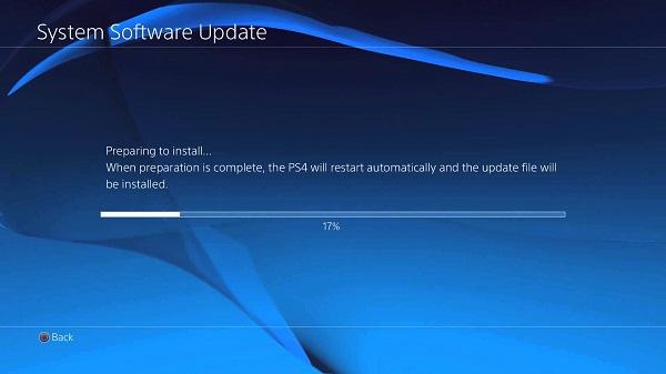 PS4-päivitys