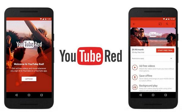 Youtube punainen