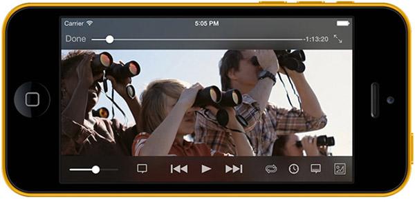 VLC iOS: lle