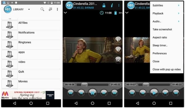 Here're Your 10 Choices about the Best Media Player for Android