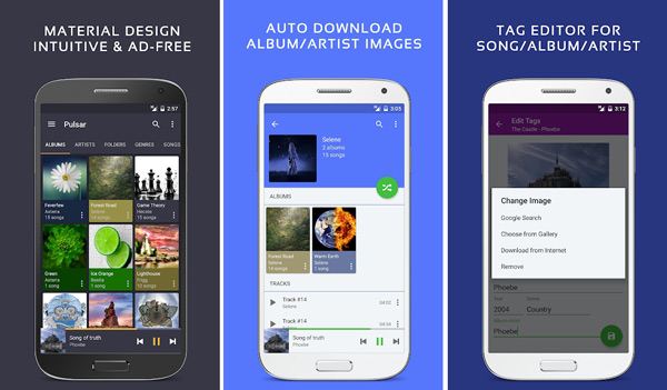 Pulsar Music Player