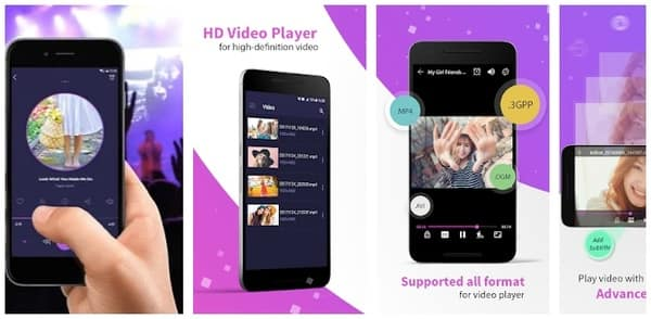 Complete Review of 10 Best Samsung Video Player APPs above 4