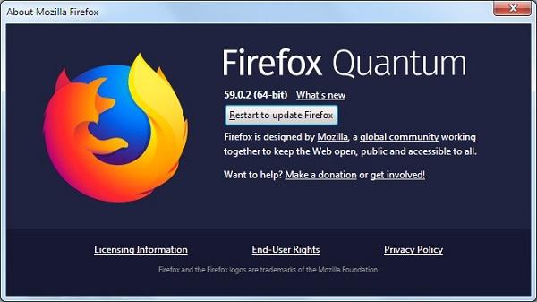 Päivitä Firefox
