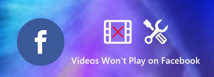 Videot eivät toistu Facebookissa