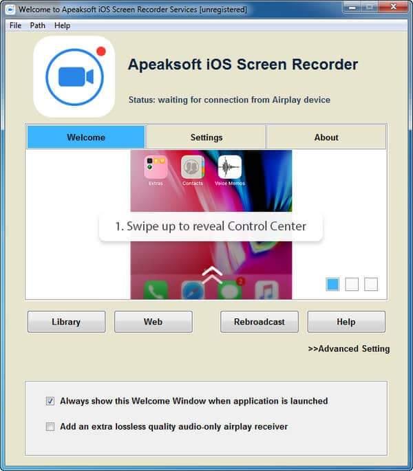 iOS-näytön tallennin