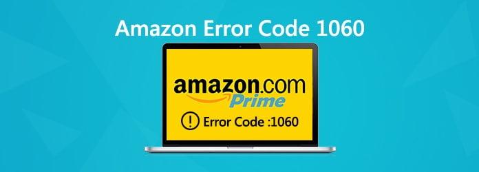 Amazonin virhekoodi 1060