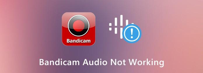 Bandicam-ääni ei toimi