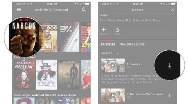 Netflix-films downloaden