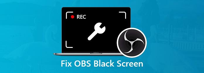 Korjaa musta näyttö OBS Studiossa