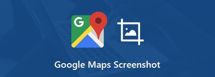 Google Maps -kuvakaappaus