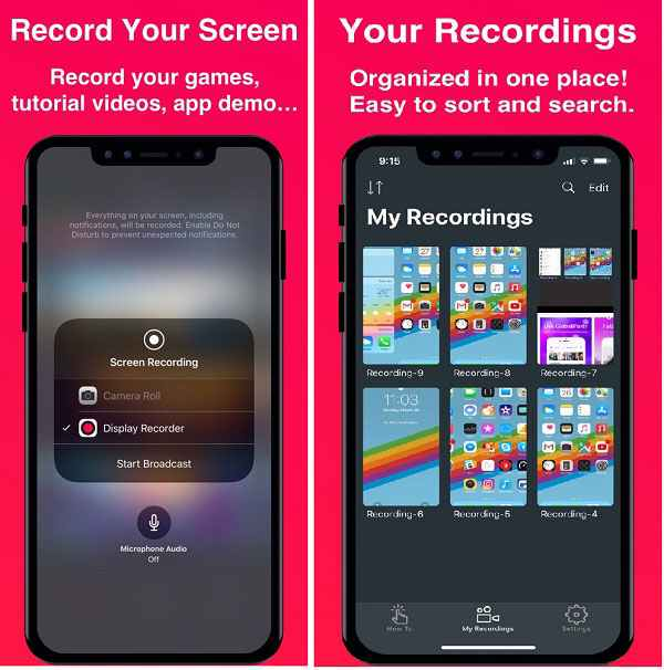 Display - Screen Recorder