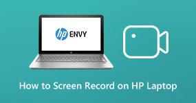 Tallenna näytön video HP: n kannettavaan tietokoneeseen