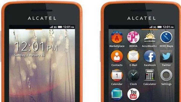 Alcatel-näyttö