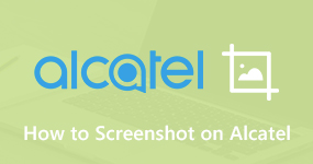 How to Screenshot on Alcatel