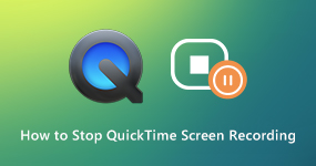 How to Stop QuickTime Screen Recording