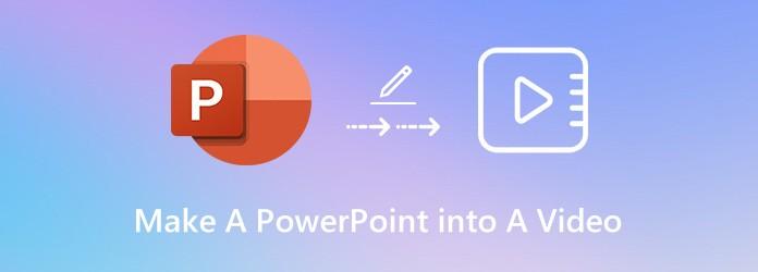 Tee PowerPointista video