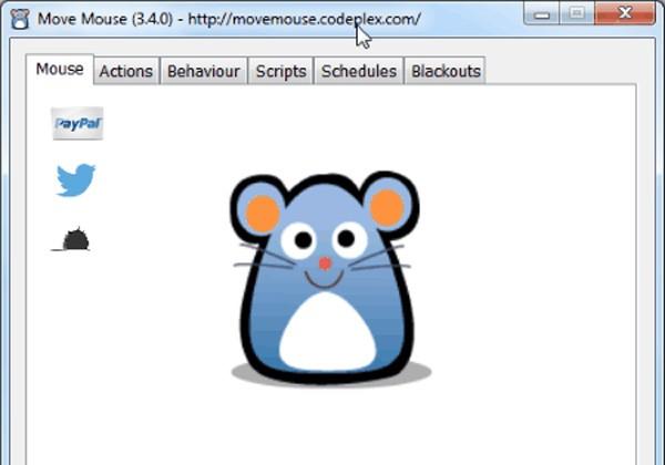 Siirrä hiirtä
