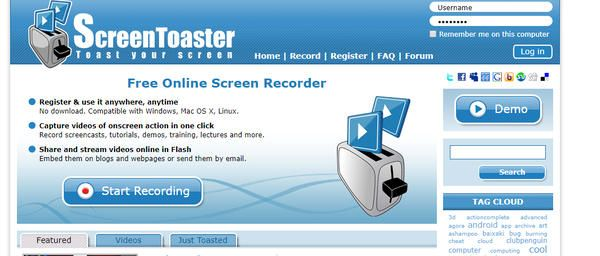 online-screentoaster