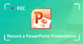 Nauhoita PowerPoint-esitys