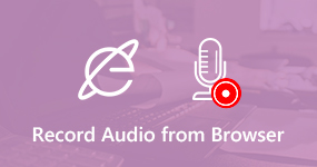 Record Audio from Web Browser