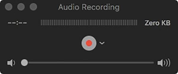 Nauhoita ääni Macissa