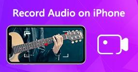 Tallenna ääni iPhoneen