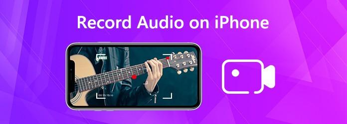 Nauhoita ääni iPhonessa