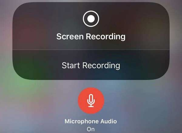 Record audio with iOS Screen Recording