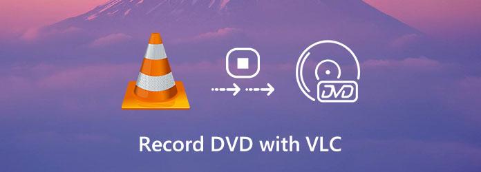Tallenna DVD-levy VLC: llä