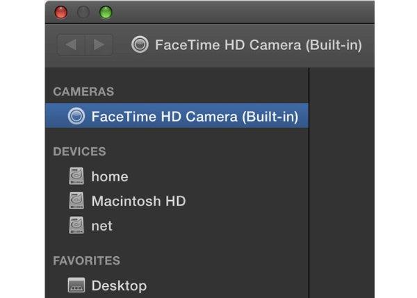 FaceTime HD -kamera