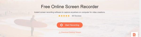 Apeaksoft ilmainen online-tallennin