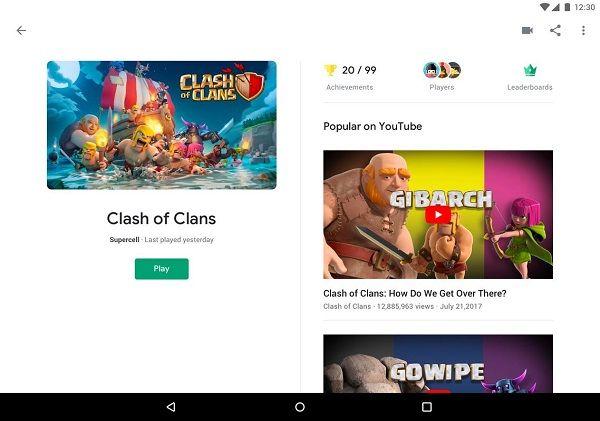 Google Play-pelit