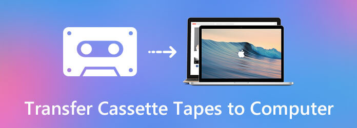 Siirrä kasettihanat tietokoneelle