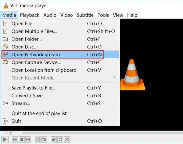 VLC-verkkovirta